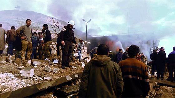 Plus de 40 morts dans un attentat à Azaz