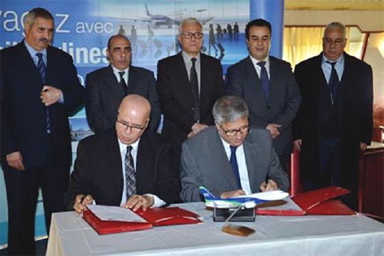 Tassili Airlines et Entmv signent un protocole d'accord de billetterie