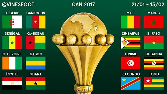 CAN-2017 J-3 : Une 31e édition ouverte à tous les pronostics