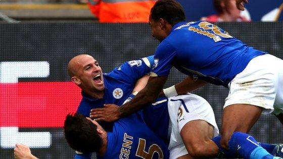Spectaculaire victoire de Leicester devant Manchester United