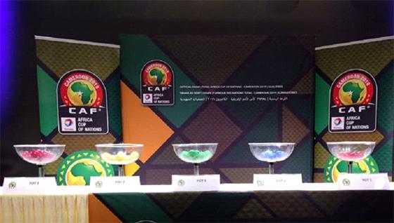 Les Verts dans le groupe D avec le Togo, le  Bénin et la Gambie