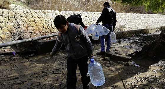Damas (Syrie) : L'eau sera rétablie dans quelques jours