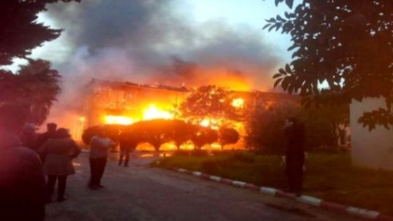 Un incendie se déclare à la résidence universitaire de Ben Aknoun