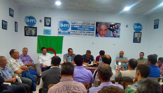 Tizi Ouzou : Le FFS prêt à affronter les législatives