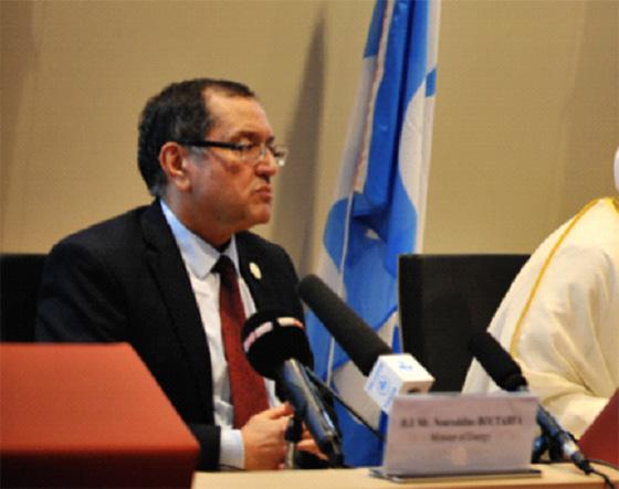 Noureddine Boutarfa : «L'Algérie produit moins que son quota»