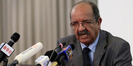 Messahel reçoit une délégation de la région de Misrata