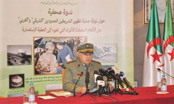 L'Algérie assainie des mines antipersonnel