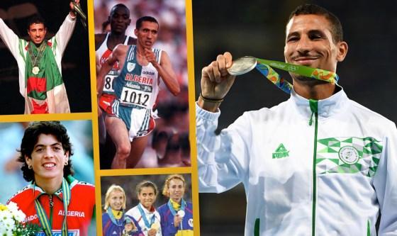 Les plus grandes vedettes du sport algérien honorées