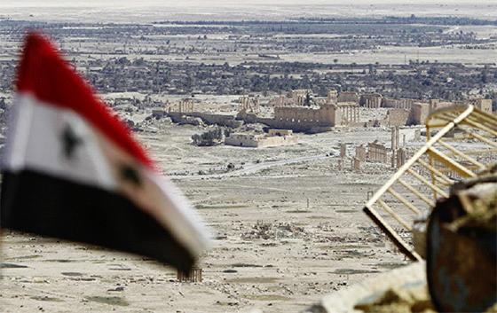 Les succès de l'armée syrienne dans le désert de Homs