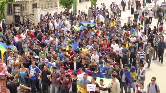 Les étudiants de Tizi Ouzou marchent contre l'insécurité