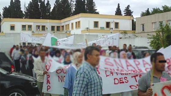 Béjaïa : Les travailleurs communaux poursuivent la protestation