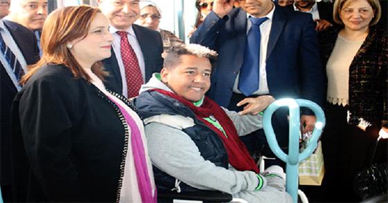 Les handicapés impliqués dans le développement national