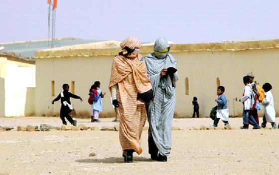 Une délégation du Congrès américain à Tindouf
