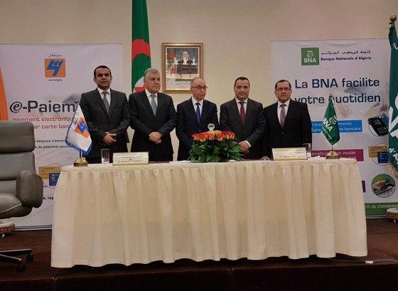 La BNA et la Sonelgaz signent à l'Aurassi le lancement du paiement électronique