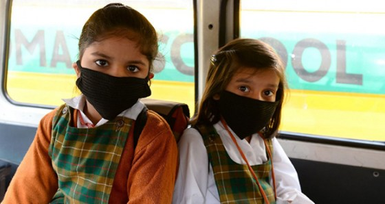 l'environnement pollué tue un quart  des enfants de moins de 5 ans