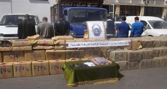 100 kg de cannabis traité saisis à Oran