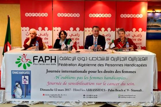 Ooredoo et la FAPH sensibilisent sur le dépistage du cancer du sein