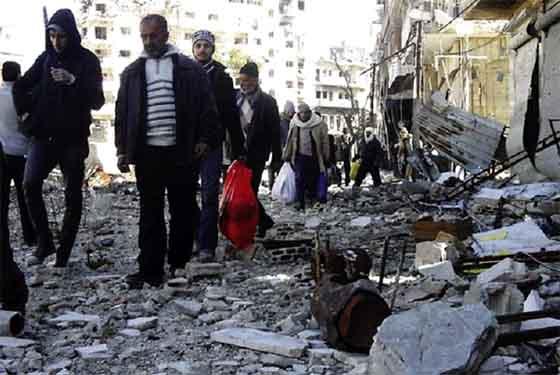 Syrie : Les terroristes en passe  de perdre un nouveau repaire