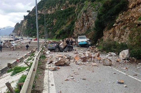 Objectif : prise en charge des glissements de terrains à Béjaïa