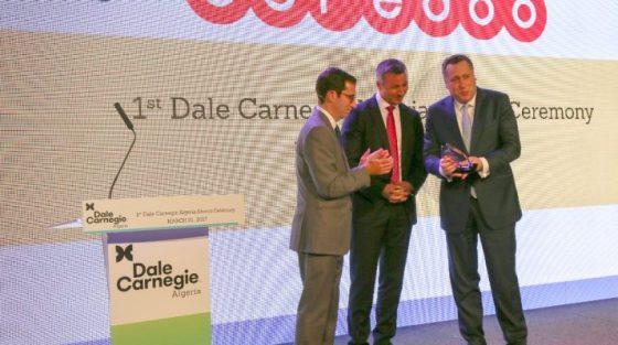 Ooredoo reçoit le prix du leadership Dale Carnegie