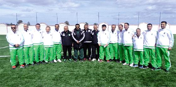 La sélection algérienne affute ses armes à Sidi Moussa