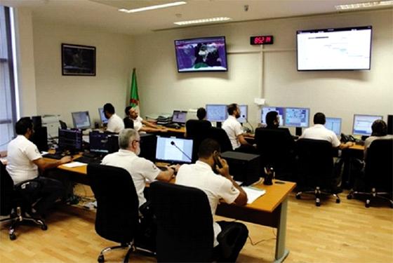 Evaluation de l'exploitation des images des satellites algériens