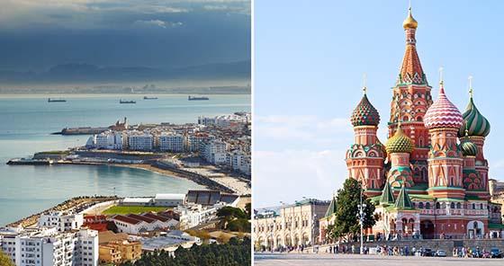 Alger et Moscou pour une solution interne aux conflits de la région