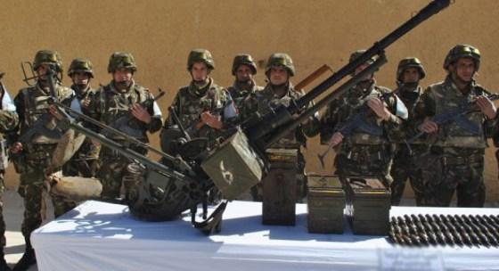 Découverte d'une importante cache d'armes à Bordj Badji-Mokhtar