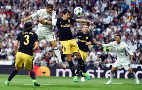 Le Real écrase l'Atlético avec un triplé de Ronaldo