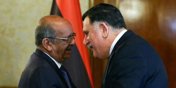 Al-Sarraj mise sur l'appui algérien
