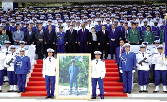 Sortie de la 11e promotion des lieutenants de police