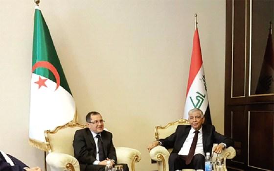 Le président irakien apporte son appui à Boutarfa