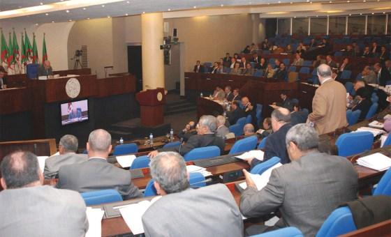 Said Bouhadja candidat  à la présidence de l'APN