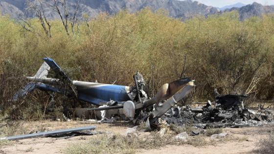 Un hélicoptère des forces navales s'écrase près de Tipasa