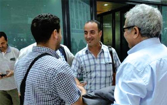Le journaliste Djamel Alilat est arrivé mardi à Alger