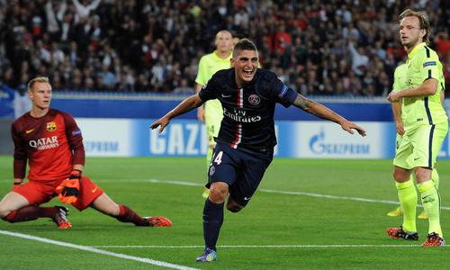 Ligue des champions: L'ogre Barcelone terrassé à Paris