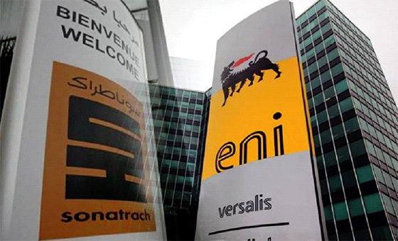 Sonatrach conclue des accords de partenariat avec l'italien ENI