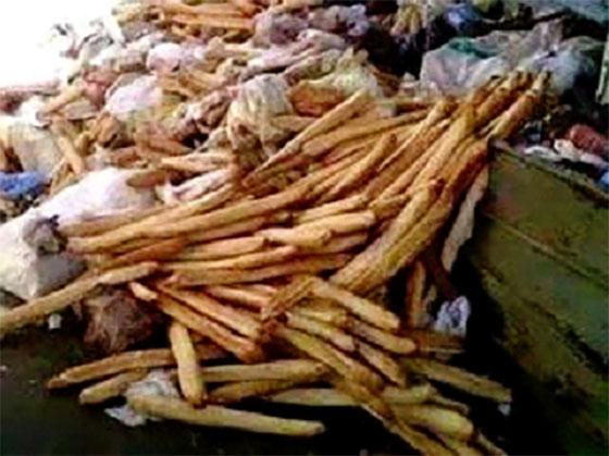 Netcom : 3 tonnes de pains collectés