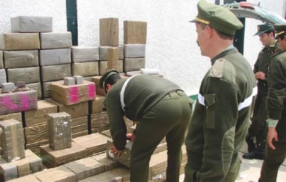 Saisie de quintaux de cannabis, d'héroïne et du matériel d'espionnage