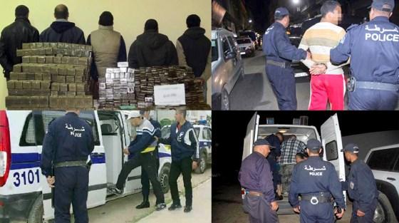 Le trafic des stupéfiants a baissé au  premier semestre