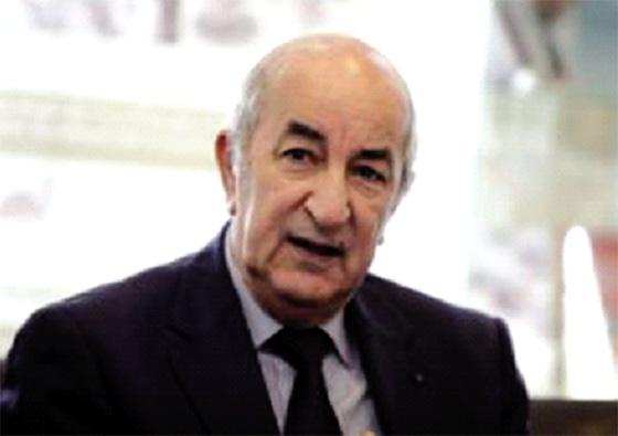 Tebboune représentera le président Bouteflika