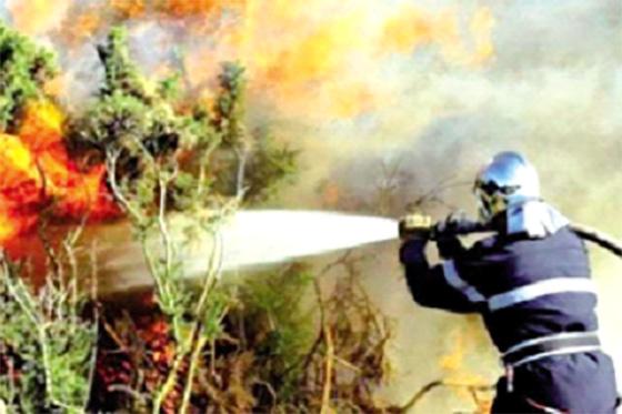 Médéa : La colonne mobile de la Protection civile installée