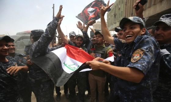 Mossoul libérée, Daech s'effondre