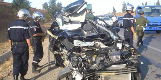 1 400 décès dans des accidents de la route en cinq mois