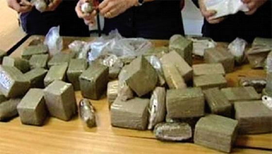 Le réseau de drogue Oran – Tizi Ouzou démantelé par la police