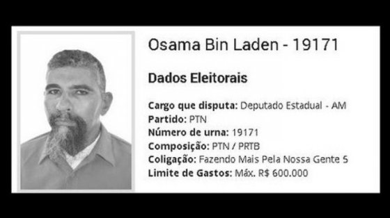 Ben Laden arrêté au Brésil