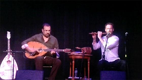 Mohamed Rouane et Selma Kouiret en duo