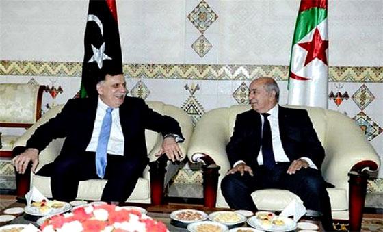 «Ma visite en Algérie vise à faire le point sur les derniers développements en Libye»