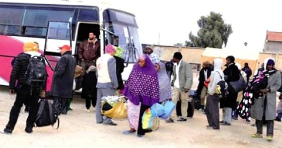 Le rapatriement des réfugiés africains a coûté 1,2 milliard de DA