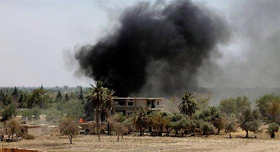 Six civils tués dans une frappe US contre un hôpital à Deir ez-Zor